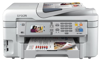 Epson WorkForce WF-3621 - Fastec Printers