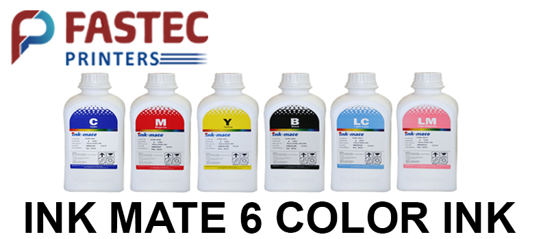 INKMATE 6 Colors Ink For Epson - Fastec Printers