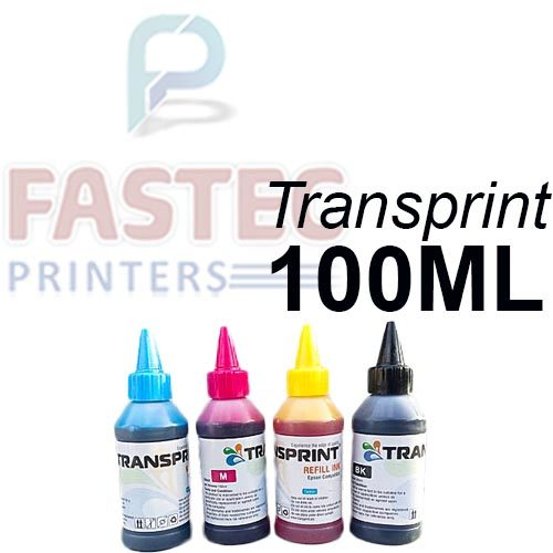 Transprint 4 Color 100 ML Ink For Epson Printers - Fastec Printers