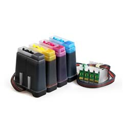 4 Color CISS For Epson Printers - Fastec Printers