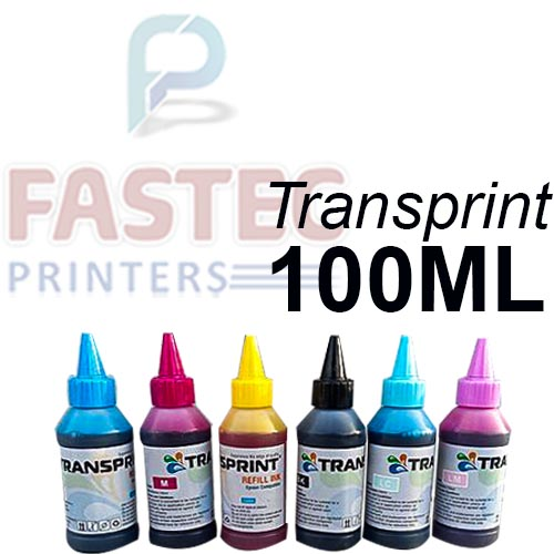 Transprint 6 Color 100 ML Ink For Epson Printers - Fastec Printers