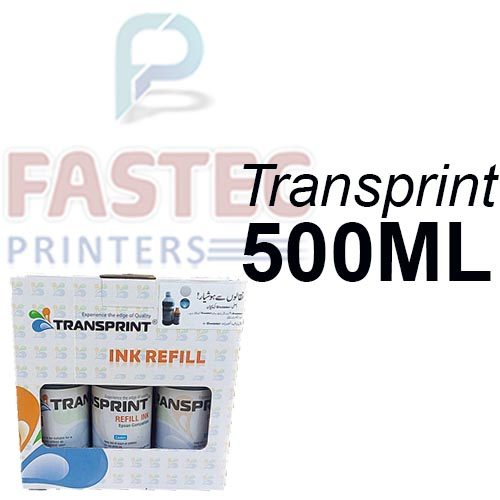 Transprint 6 Color 500 ML Ink For Epson Printers - Fastec Printers