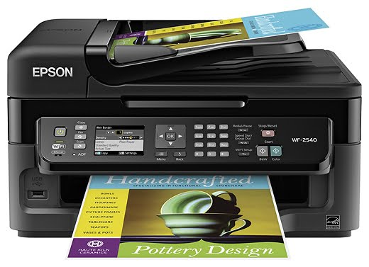 Epson WorkForce WF-2540 - Fastec Printers