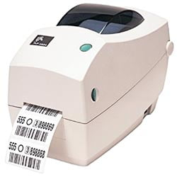 Zebra TLP 2824 Plus Barcode Printer - Fastec Printers