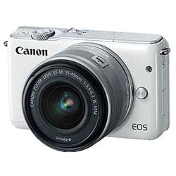 Canon EOS M10 EF-M 15-45 IS STM Kit DSLR Camera - Fastec Printers