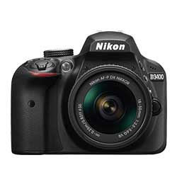 Nikon D3400 Digital DSLR Camera - Fastec Printers