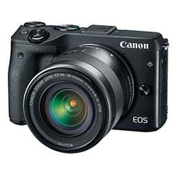 Canon EOS M3 EF-M 18-55 IS STM Kit DSLR Camera - Fastec Printers