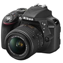 Nikon D3300 DSLR Camera with 18-55mm Lens - Fastec Printers