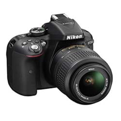 Nikon D5300 DSLR Camera with 18-55mm Lens - Fastec Printers